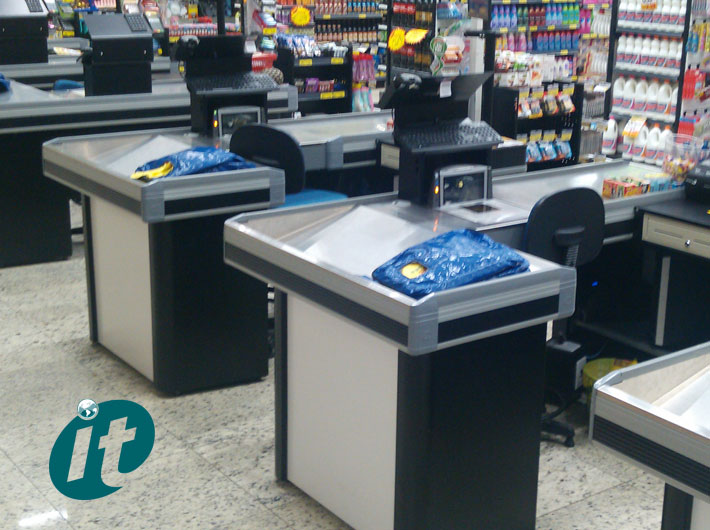 Check Out para Supermercados
