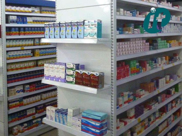 Expositores para Drogaria e Farmácia