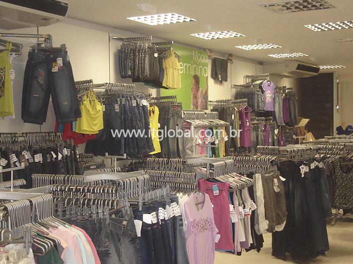 Ganchos para Lojas