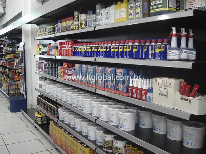 Gôndolas para Lojas de Material de Construção