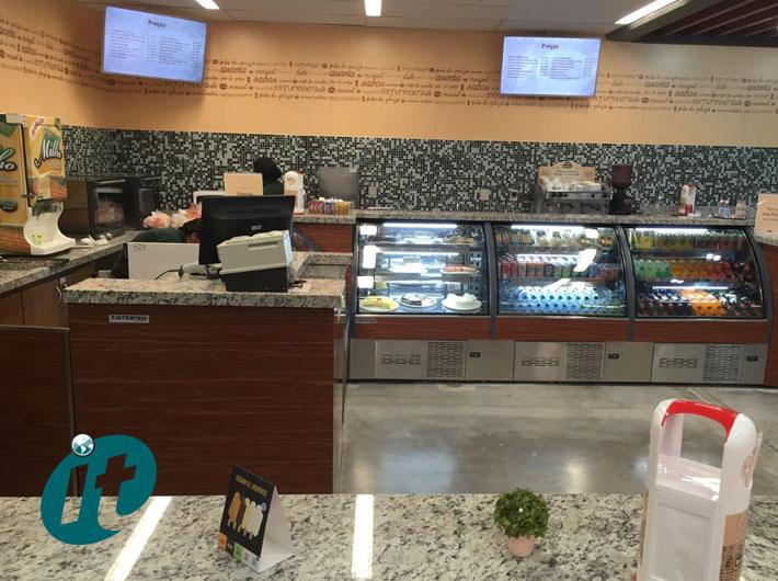 Instalações para Cafeteria