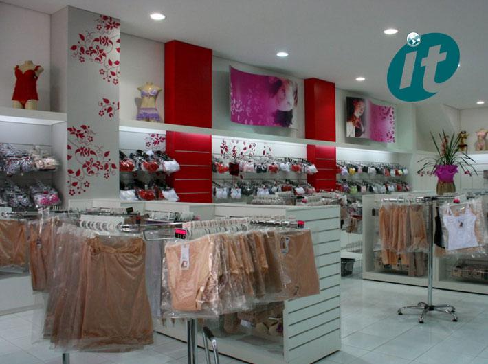 Montagem de Lojas de Lingerie