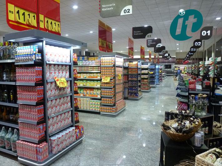 Montagem de Supermercado
